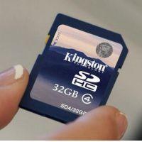 金士顿SD卡32GB 存储卡 4g闪存卡1G 相机内存卡 导航存储卡