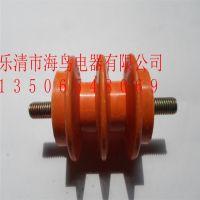 供应40*40绝缘子 M8 带螺杆 绝缘柱 低压 40X40 配电箱绝缘子 带杆