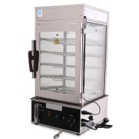 商用500H蒸包柜 台式蒸包机 蒸馒头机 蒸箱 保温柜 保温展示柜