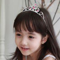新款韩版头饰,来自星星的你同款水钻皇冠头箍 发箍批发