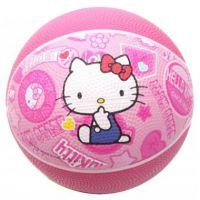 Hello Kitty 凯蒂猫 正品 儿童 橡胶篮球 1号 1#篮球 HA1101 KT猫