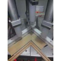石家庄多田高频钉角机套线门专用拼直角异性角均可实现