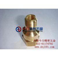 供应精密 铜件 铜套 铜螺丝