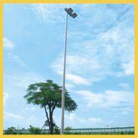 岳阳篮球场灯杆批发 小区篮球场灯杆安装 学校篮球场灯杆设计