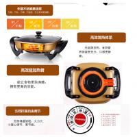 西安韩式多功能电热锅电火锅批发礼品锅具康佳TCL品牌代理价