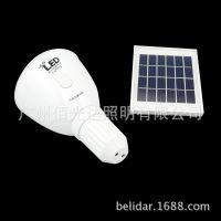 新款太阳能应急led灯泡 充电灯泡 led应急灯泡 led手电筒灯泡