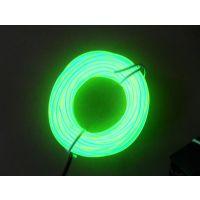 供应高亮度EL发光线装饰照明闪光EL冷光线