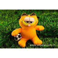 东莞加工定制加菲猫毛绒玩具 凯蒂猫公仔 卡通动漫主题玩具