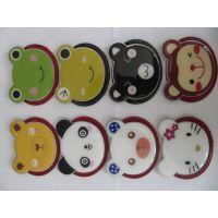 厂家供应 金属化妆镜 高档熊猫型金属化妆镜 价格优惠