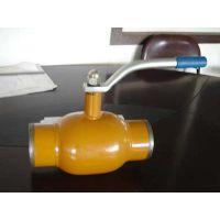 筒形体全焊接固定式球阀温州厂家,不锈钢球阀,球阀服务好