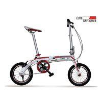可拆卸折叠自行车 骓特14寸折叠山地车 把组可升降 9.8KG铝合金TW1400