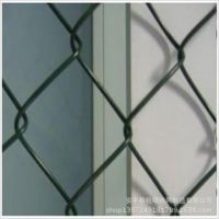 建筑防护菱形网 海水养殖防护网 体育厂勾花护栏网 编织网