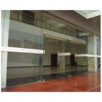 三元里电动平移玻璃门厂价销售 玻璃电动平移门18027235186