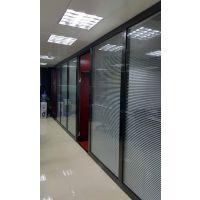 室内装修设计 YGS-Wall-不锈钢双玻百叶隔断