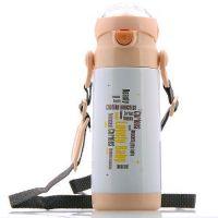 万象儿童杯 吸管杯 HVT083-400 O1 不锈钢真空保温保冷水杯 包邮