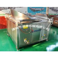 供应黄豆青豆蚕豆片节能油炸锅找盛康机械