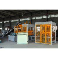 吉林省德惠水泥制品厂砖机 展鹏砖机供应QT6-15砌块空心砖机 高产量