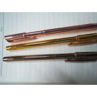 恒艺直销圆珠中油笔 自动化表面涂装生产线能在书写工具表面喷镀出电镀一样的效果 自动化纳米喷镀设备
