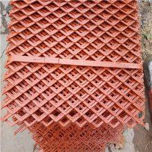 钢筋脚踏网 重型钢板网 菱形防护网