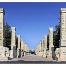广场龙柱,大理石龙柱石刻山东顺利石雕厂家供应,四川云南贵大理石柱墩专供。