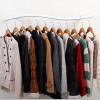 服装架中国衣架展示架 铁艺服装架落地式墙壁展示架