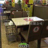 供应火锅桌定做 烧烤桌 干锅店桌椅组合 颜色尺寸可以选择