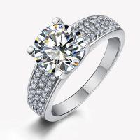 爱伦可可 微镶锆石结婚戒指  速卖通热销戒指 货源  厂家直销批发