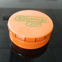 圆形噼啪响异形糖果铁罐 薄荷糖唇膏包装弹弹小铁盒