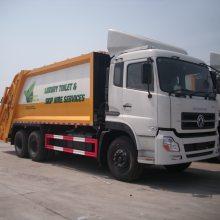 东风天龙16吨后装压缩式垃圾车厂家报价