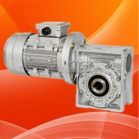 NMRV75-Y0.75KW-60铝合金外壳蜗轮蜗杆减速机