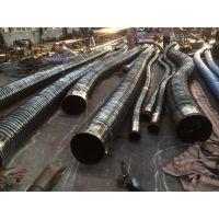 厂房大口径耐热空气通风软管 输送热风软管 伸缩胶管