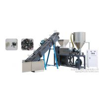浙江余姚德科牌大产能LDPE HDPE PP EVA薄膜地膜农膜水洗清洗破碎线拧干机挤机生产厂家价格