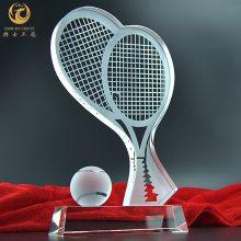 武汉羽毛球奖杯制作,水晶羽毛球奖杯,羽毛球比赛奖杯奖牌,水晶羽毛球奖品定制,宜昌羽毛球比赛奖杯