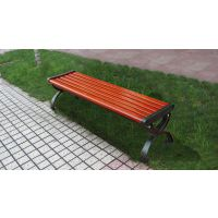 美江南木业,武汉公园椅厂家,公园椅批发,黄色,实木条,1.5米有靠背,可来图定制