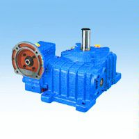 JIE杰牌WP系列环保行业污水处理专用WPE硬齿面涡轮蜗杆减速机