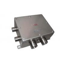 防爆不锈钢接线箱BXJ8050-20/6V 2-G3/4 防爆端子箱