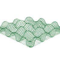 杰达牌优质防护三维植被网/土工网垫/三维植被网