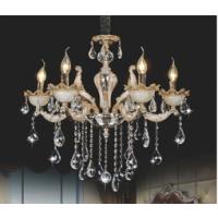 CVMA厂家直销 6026C-6A欧式奢华现代别墅大气客厅灯蜡烛白炽灯锌合金色灯具