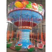 西瓜飞椅 水果飞椅是一款儿童喜爱的公园广场儿童游乐设施
