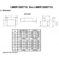 LRC肖特基LMBR120ET1G thru LMBR140ET1G