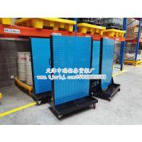 天津中瑞铭泰货架厂特价供应双面移动物料整理架送货安装