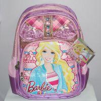 新款正品迪士尼学生双肩背包 儿童芭比书包BB8048