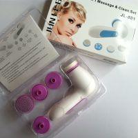 正品洗脸仪 5合一电动洁面仪 电子美容仪 面部护理套装 按摩