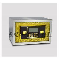 小型办公不锈钢保险箱安全电子防盗保险柜