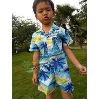 供应六一儿童表演套装 小子海岛特色节目套装 宝宝海岛服