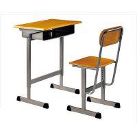 批发学生课桌椅儿童书桌单人升降课桌椅学习桌学校专用培训桌