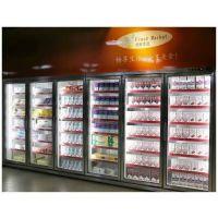 超市冷冻展示柜 玻璃门低温冷藏柜 立式冷冻柜 商超-18度低温冷冻展示冰柜 冷冻饺子的冰柜