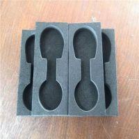 防震海绵防碎内托盒加工 精雕防震高密度海绵内盒 模切异形海绵内胆