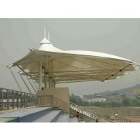 骏阳|简易看台膜结构制作 学校体育膜结构看台安装 |设计免费