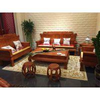 名琢世家刺猬紫檀古典组合沙发款式大全生漆工艺榫卯结构
